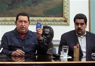 Hugo Chavez, Nicolas Maduro
