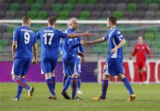 Slovenia Iceland Soccer WCup