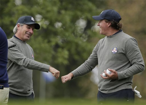 Phil Mickelson, Fred Couples