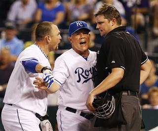 Ned Yost, Billy Butler, Jordan Baker