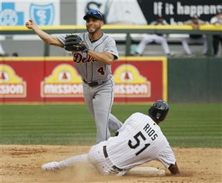 Omar Infante, Alex Rios