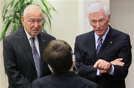 Jim Lovell, Gene Cernan, Shane DiGiovanna