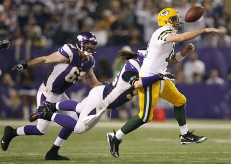 Brian Robison, Aaron Rodgers