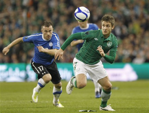 Ireland Estonia Euro 2012 Qualifier Play-Off