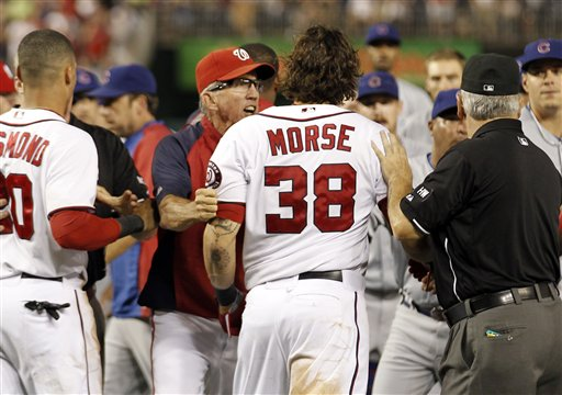 Michael Morse, Davey Johnson