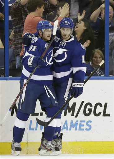 Steven Stamkos, Teddy Purcell