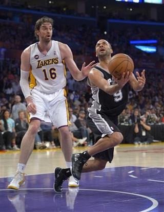 Tony Parker, Pau Gasol