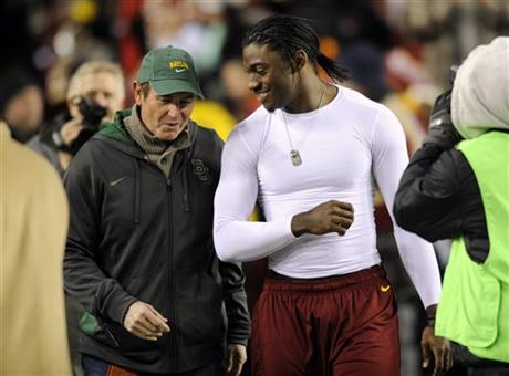 Robert Griffin III, Art Briles