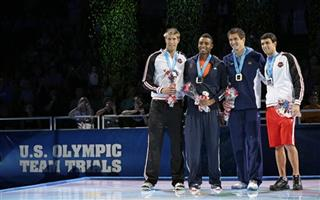 Matt Grevers, Cullen Jones, Nathan Adrian, Ricky Berens