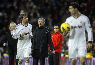 Jose Mourinho, Fabio Coentrao, Cristiano Ronaldo