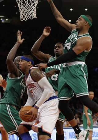 Carmelo Anthony, Kevin Garnett, Jeff Green, Paul Pierce