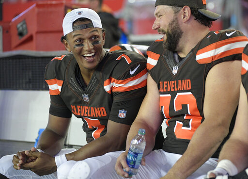 DeShone Kizer, Joe Thomas