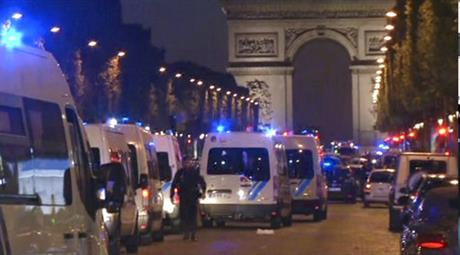 France Paris Police Shot