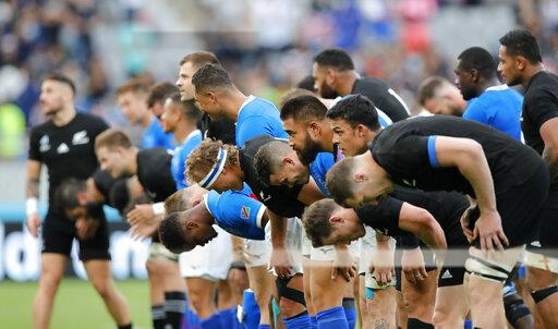 Japan Rugby WCup New Zealand Namibia