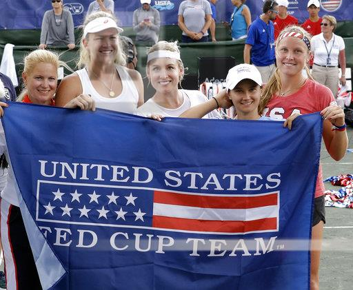 Czech Republic US Fed Cup Tennis