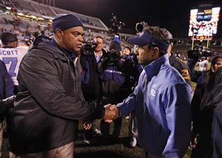 Mike London, Larry Fedora
