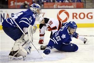 Devils Maple Leafs Hockey