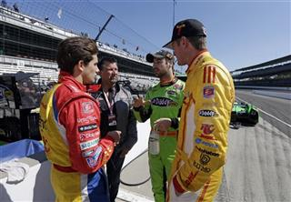 Michael Andretti, Carlos Munoz, Ryan Hunter-Reay, James Hinchcliffe