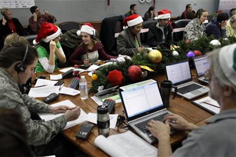 Colorado NORAD Tracks Santa