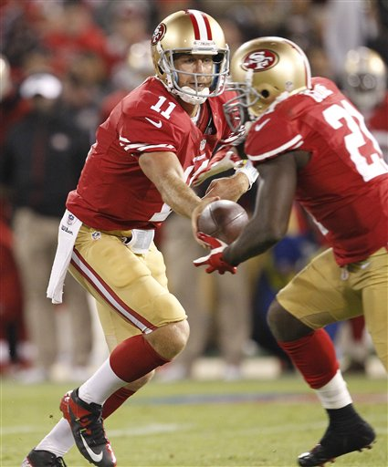 Alex Smith,  Frank Gore
