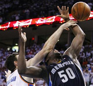 Nick Collison, Zach Randolph