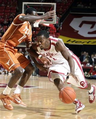Oklahoma Texas Basketball