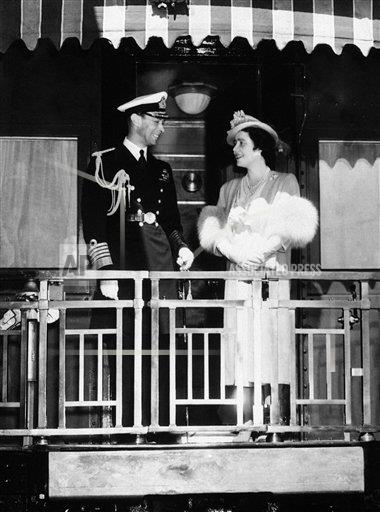 Watchf AP I   CAN APHSL41502 Canada King George VI and Queen Elizabeth
