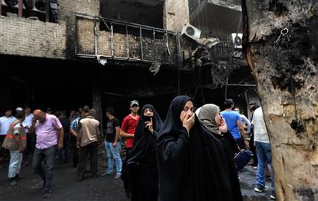 Deadliest attack in a year kills 115 in central Baghdad