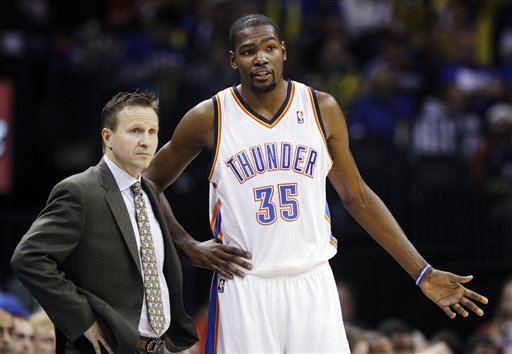Scott Brooks, Kevin Durant