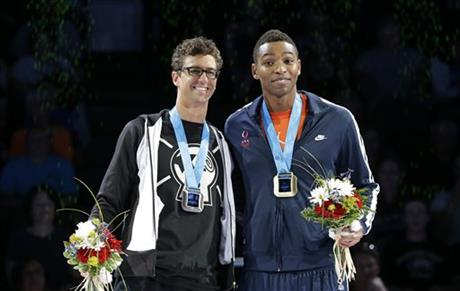 Anthony Ervin, Cullen Jones