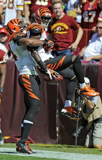  Armon Binns,  Jermaine Gresham