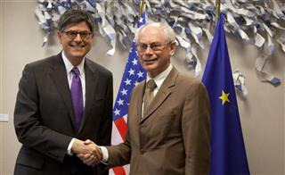 Jacob Lew, Herman Van Rompuy