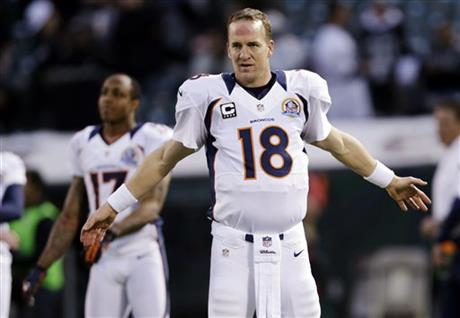 Andre Caldwell, Peyton Manning