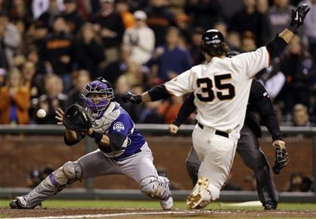 Wilin Rosario, Brandon Crawford