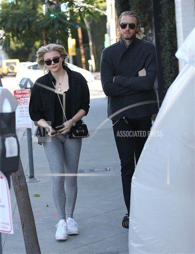STRMX Star Max/IPx A ENT California USA IPX Chloe Grace Moretz is seen in Los Angeles - 2/13/18