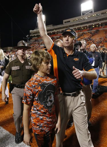Mike Gundy, Gage Gundy