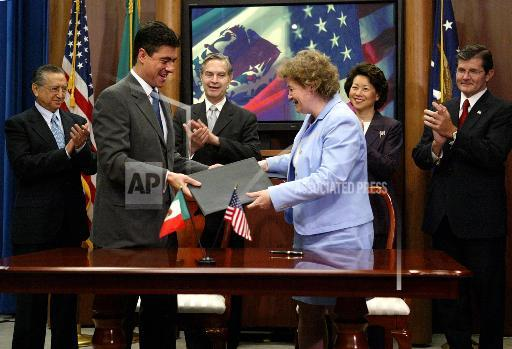 Associated Press Domestic News Dist. of Columbia United States US MEXICO LABOR