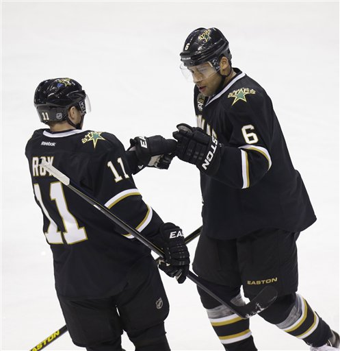 Trevor Daley,   Derek Roy