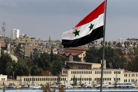 The Latest: Russia: Syrian troops reclaim city near Damascus