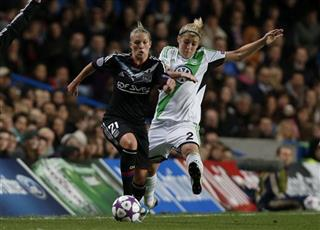 Britain Soccer Women's Champions League