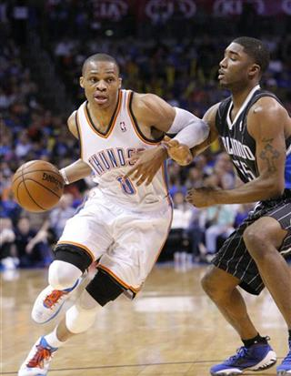 Russell Westbrook, E&#039;Twaun Moore