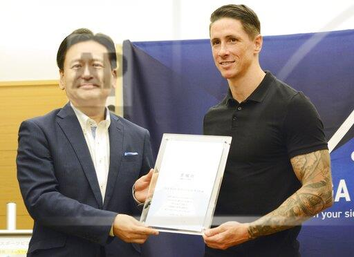 Football: Torres takes advisory role in Japan