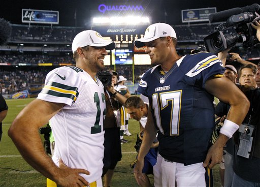 Aaron Rodgers,  Philip Rivers