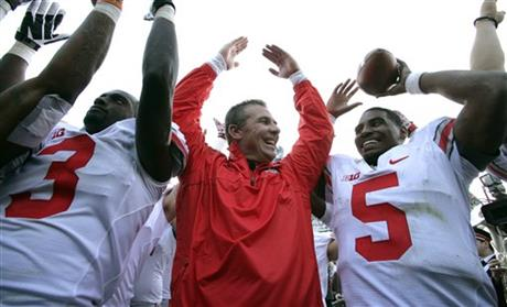 Urban Meyer, Braxton Miller, Corey Brown