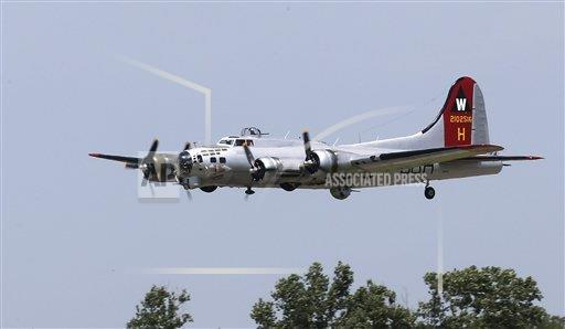 World War II B17 Bomber