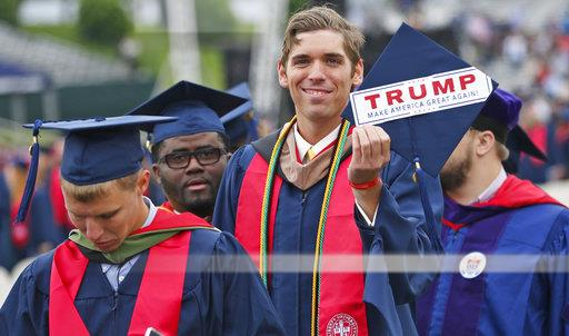 Trump Liberty Commencement