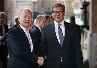 William Hague, Guido Westerwelle