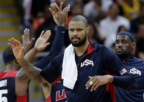 Tyson Chandler, Lebron James