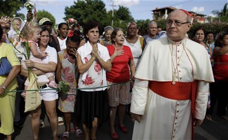 Cuba Cardinal Under Fire
