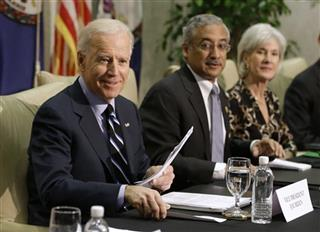 Joe Biden, Bobby Scott, Kathleen Sebelius